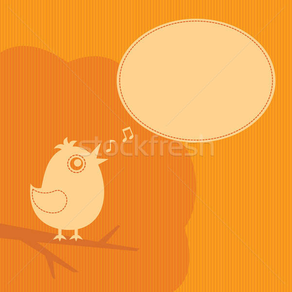 twitter bird Stock photo © artizarus