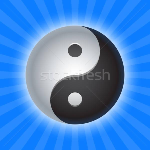 yin yang  Stock photo © artizarus