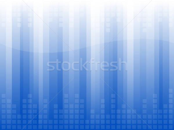 Negócio abstrato luz papel de parede praça vetor Foto stock © artizarus