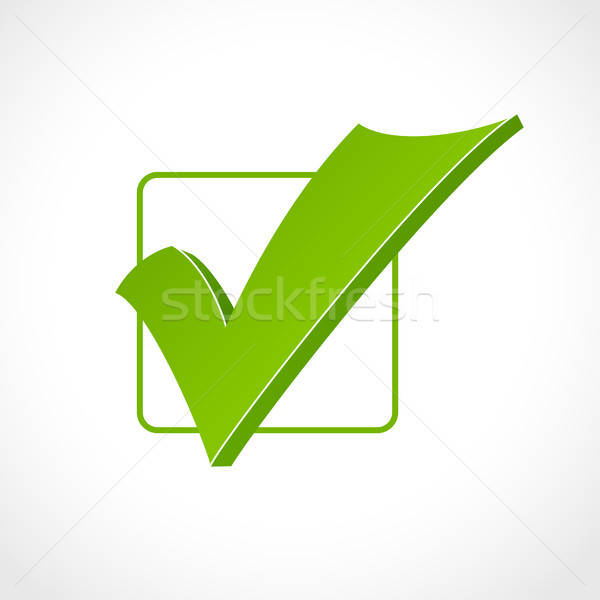 check mark Stock photo © artizarus