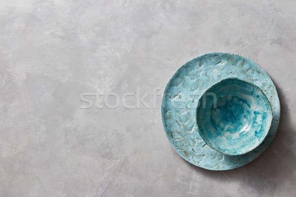 традиционный сувенир глина ручной работы красочный пластина Сток-фото © artjazz