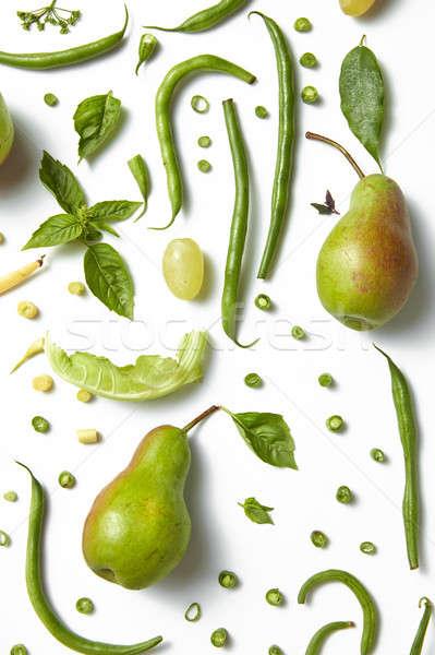 диета здоровое питание зеленый здорового пить Сток-фото © artjazz