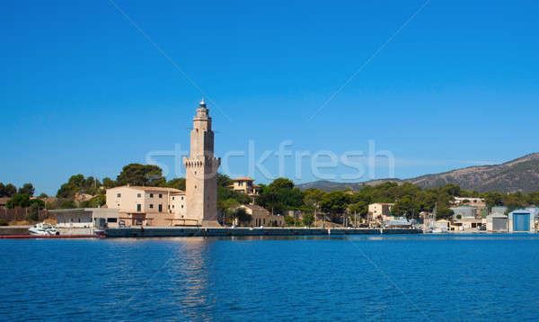 Ver mallorca cidade turismo Espanha bom Foto stock © artjazz