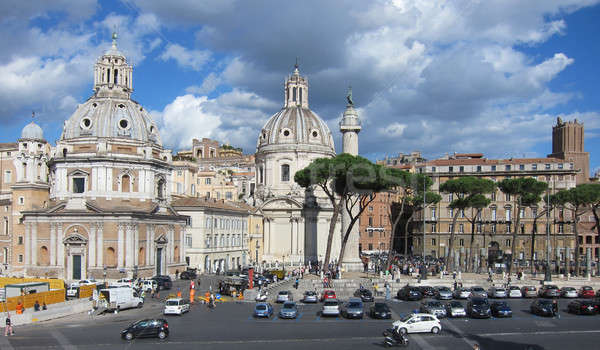 Rome City at sunny day Stock photo © artjazz