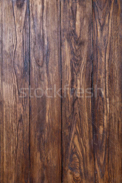 empty old brown wooden background Stock photo © artjazz