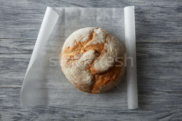 Round loaf of bread Stock photo © artjazz