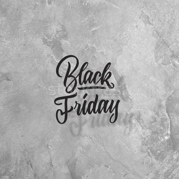 concept of sales, black Friday Stock photo © artjazz