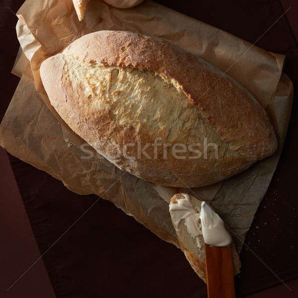 буханка хлеб приготовления бумаги Сток-фото © artjazz