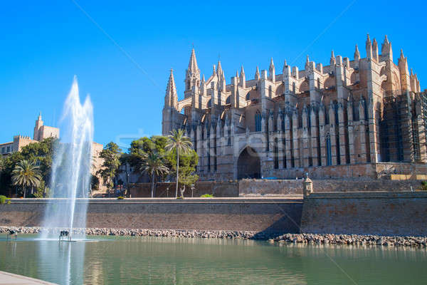 View on Palma de Mallorca Stock photo © artjazz