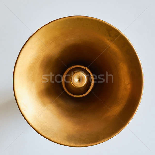 Old loudspeaker on the wall background Stock photo © artjazz