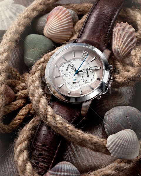 men's classic watch Stock photo © artjazz