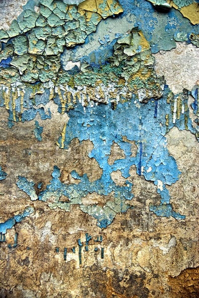 Texture vieux grunge stuc mur fissures Photo stock © artjazz