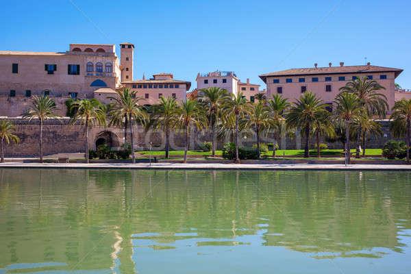 View on Palma de Mallorca Stock photo © artjazz