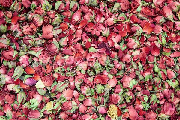 чай высушите цветок лепестков продовольствие Сток-фото © artjazz