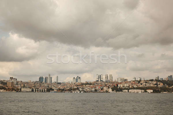 panoramic view of the city Istanbul Stock photo © artjazz