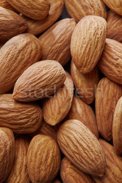 dried apricot kernel fruit close up Stock photo © artjazz