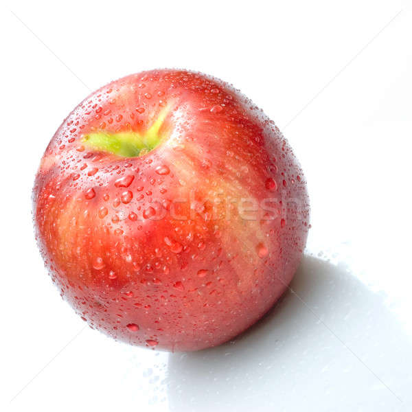 Não descrição água comida maçã fruto Foto stock © artjazz