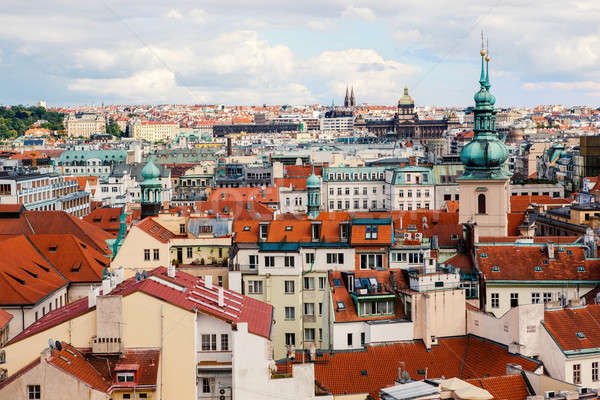Stock photo: Cityscape of Prague, Czech Republic