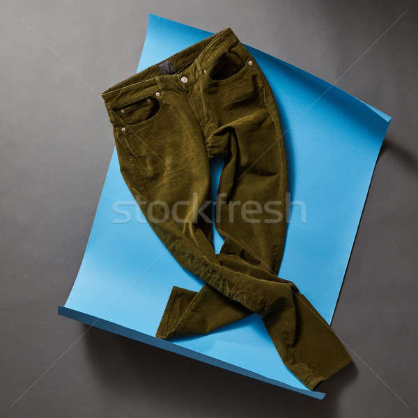 Men's casual outfits with man clothing and accessories Stock photo © artjazz