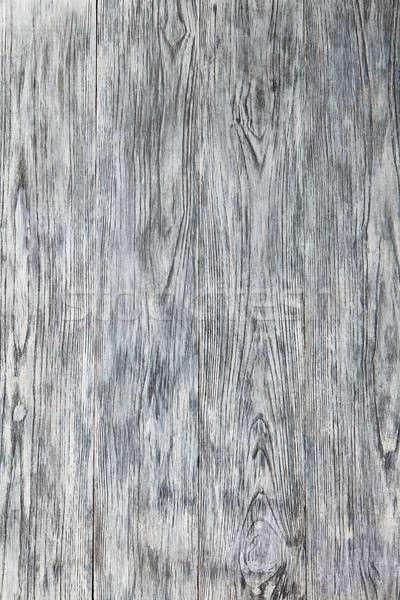 Weiß Holzstruktur Holz Textur Risse rustikal Stock foto © artjazz