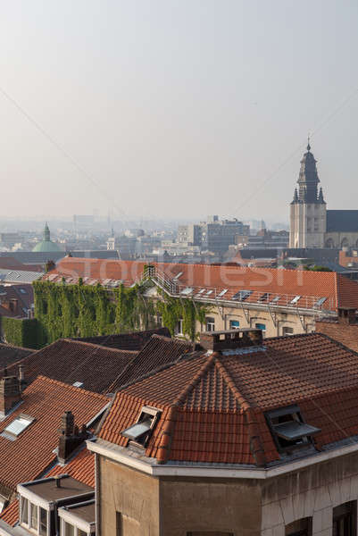 view from above the top of tower Stock photo © artjazz