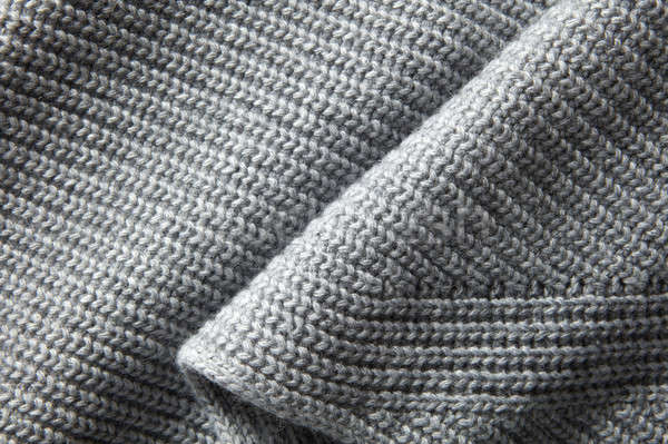 Foto stock: De · punto · tejido · textura · moda · resumen · fondo