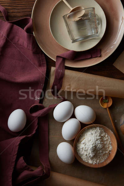 ingredients for cooking, Stock photo © artjazz