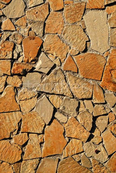 Stone wall texture Stock photo © artjazz