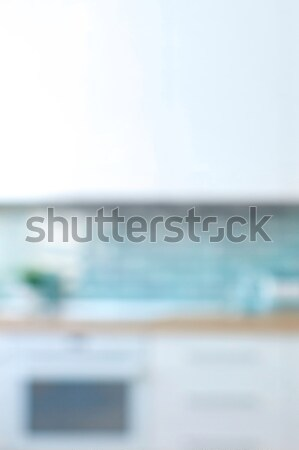 In the style minimalism Modern kitchen interior Stock photo © artjazz