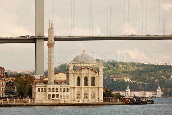 橋 トルコ イスタンブール 先頭 表示 モスク ストックフォト © artjazz