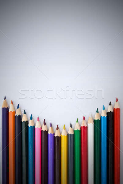 color pencils Stock photo © artjazz