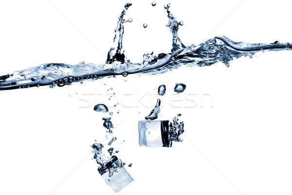 Yalıtılmış beyaz su ışık Stok fotoğraf © artjazz
