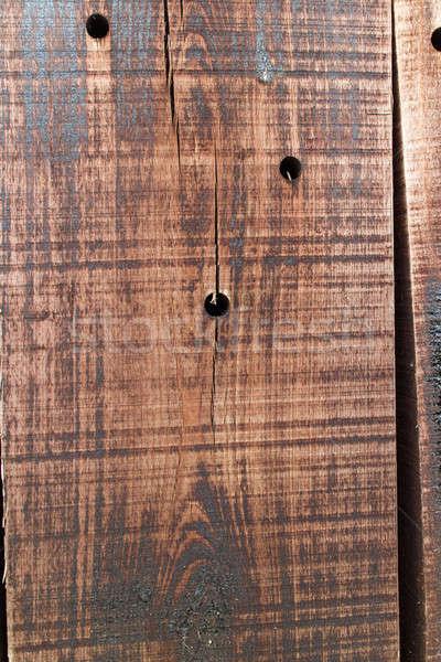 öreg fából készült textúra fa fal absztrakt Stock fotó © artjazz