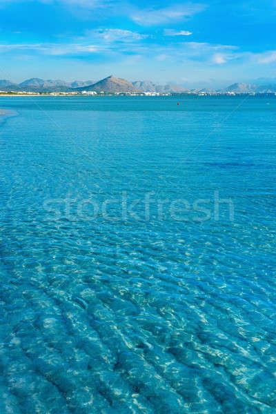 Сток-фото: красивой · зеленый · острове · синий · океана