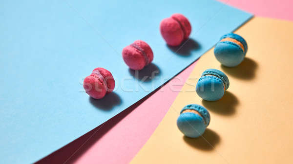 創造 青 ピンク 紙 カラフル ストックフォト © artjazz