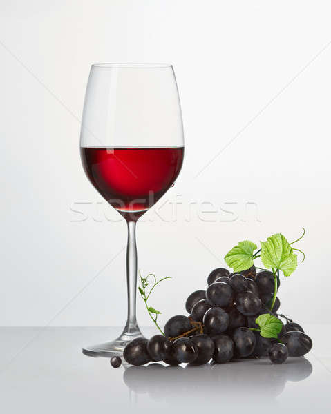 Red wine in a glass isolated Stock photo © artjazz