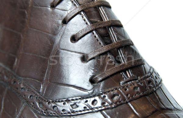 Stock fotó: Közelkép · fotó · cipő · férfi · fény · háttér