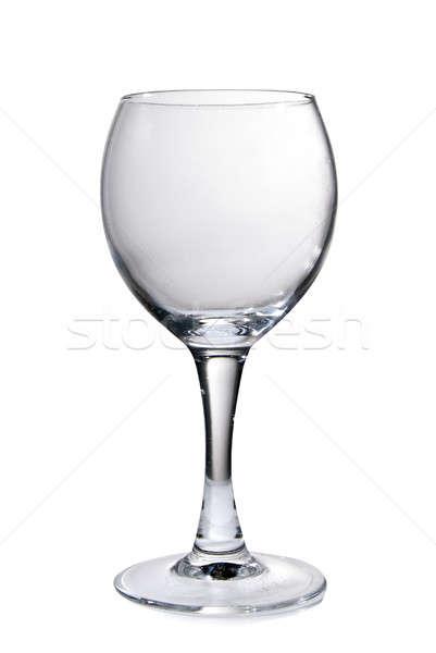 wine glass goblet isolated on white Stock photo © artjazz