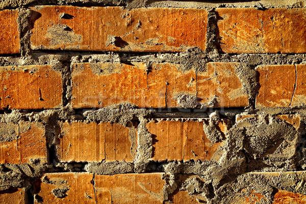 Foto d'archivio: Grunge · vecchio · mattoni · muro · texture · costruzione