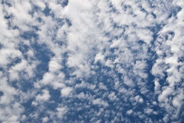Stock photo: clouds in sky