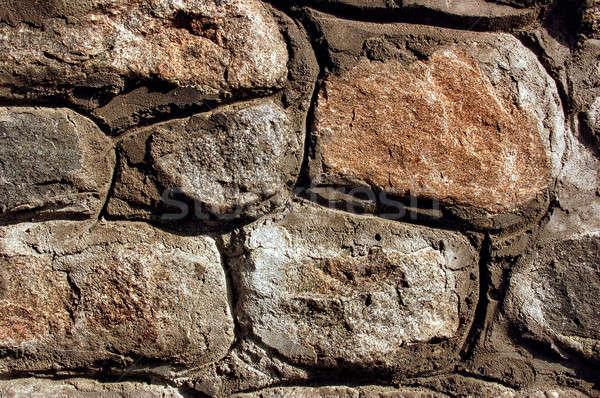 Close-up stone wall texture Stock photo © artjazz