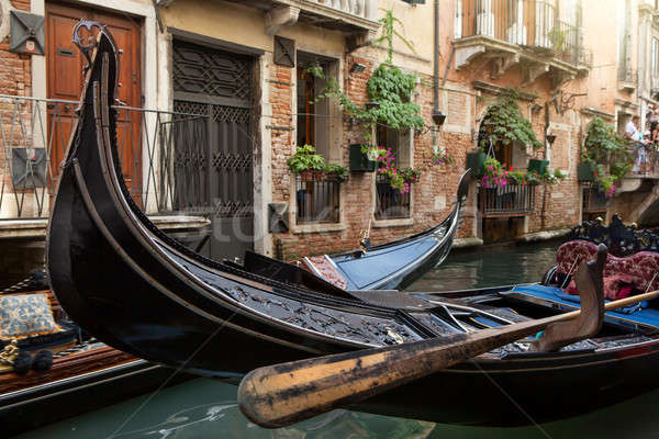 Gondolas in Venice Stock photo © artjazz