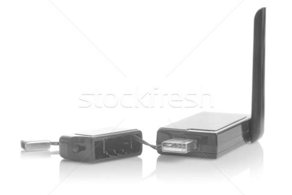 Usb 3g modem geïsoleerd witte business Stockfoto © artjazz