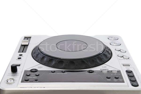 dj mixer isolated on white Stock photo © artjazz