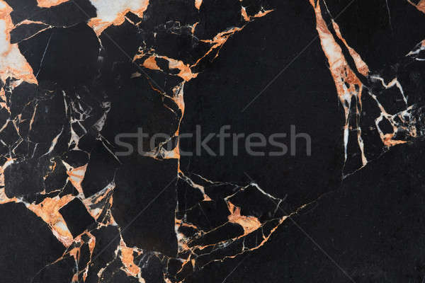 Black marble natural pattern for background Stock photo © artjazz