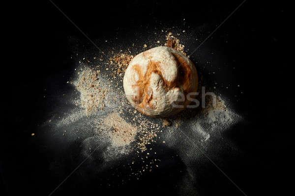 Inny chleba tradycyjny czarny żyto vintage Zdjęcia stock © artjazz