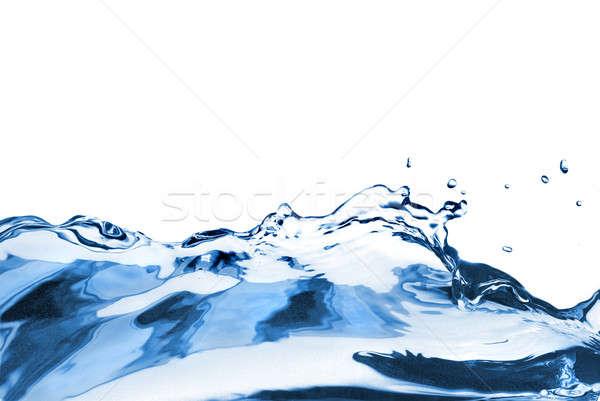 Stockfoto: Golf · geïsoleerd · splash · witte