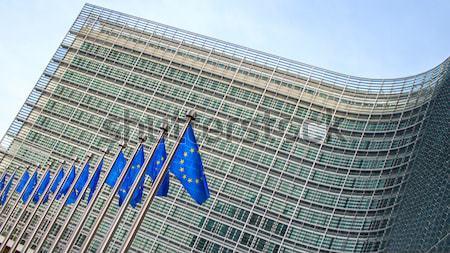 Brussels, Belgium – February 24, 2014: Photo of European Union Stock photo © artjazz