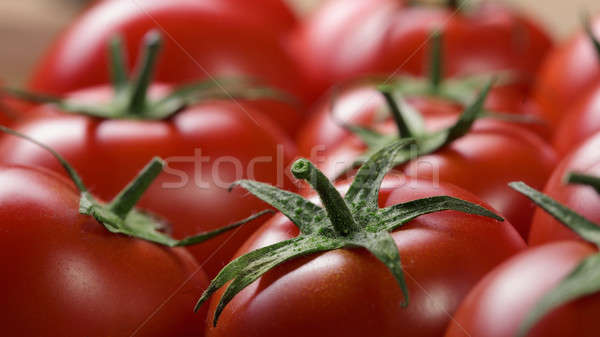 red tomatoes background Stock photo © artjazz