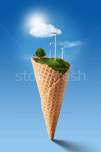 Green energy concept Stock photo © artjazz
